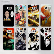Anime Bleach One Punch Man hard White Case Cover for Samsung Galaxy s7 s6 edge s4 s5 mini note 5 note4(China)