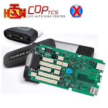 A+ high quality Single Green PCB Board CDP TCS 2015.03/2014.02 keygen software OBD2 cars / trucks Diagnostic tool OBDII scanner