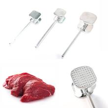 Professional Beef Steak Pork Loose Meat Hammer Mallet Tenderizer Pounder Tnder Beater Two Sides Kitchen DIY Cooking Tools