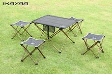 New Portect Portable Foldable Folding Table Desk Camping Outdoor Picnic 7075 Aluminium Alloy Ultra-light Panic