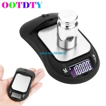 OOTDTY 200g x 0.01g Digital Pocket Scale Jewelry Weight Precise Electronic Balance Gram MY4_30 - Niu Besting Store store