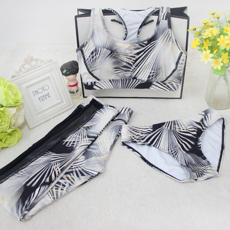 2018 Top Hot Sale Cypress Road, South Korean Trousers Movement, Three Pieces Of Swimsuit, Swimming Suit <br>