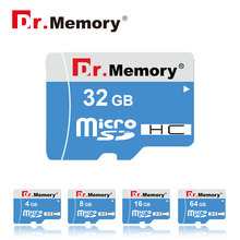 Dr.memory 64gb MicroSD XC stick Real Capacity blue Micro Sd Card Class10 Memory Card 8G 16G 32G TF Card Microsd WITH Adapter