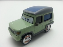 Pixar Cars Miles Axlerod Metal Diecast Toy Car 1:55 Loose Brand New In Stock & Free Shipping