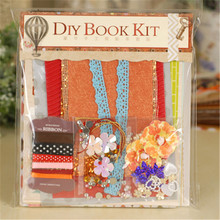 Complete Scrapbook Kit DIY Scrapbooking Photo Album For Family/Friend/Kid 8 Themes Vintage Graduation Present Best Gift