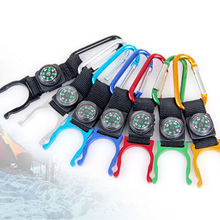 1 pc Water Bottle Clamp Clip Outdoor Camp Hiking Carabiner Water Bottle Holder Clip Travel Outdoor Buckles Fine Sporting Goods