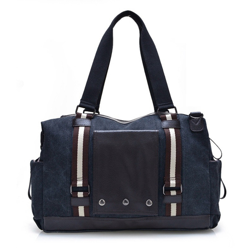 High Quality 2017 Casual Mens Handbag Canvas Bag Men Woman Shoulder Bag Multifunction Business Briefcase Leisure Bag Travel Bag<br><br>Aliexpress