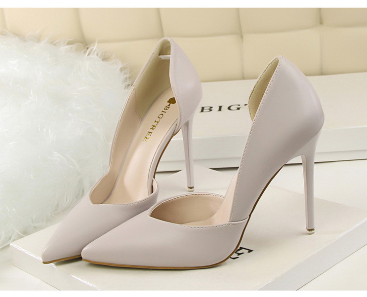 Women Pumps Fashion High Heels Shoes Black Pink Yellow Shoes Women bridal Wedding Shoes Ladies 18