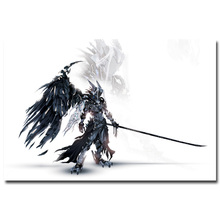 Final Fantasy XII Art Silk Fabric Poster Print 13x20 24x36 inch Vedio Game Sephiroth Pictures for Living Room Wall Decor 023