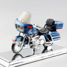 1:18 maisto Scale kids Harley 1980 FLT Tour Glide Die casting metal model touring cruiser bike motorcycle mini moto toy for kids(China)