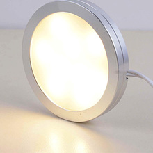 Ultra-thin LED Spotlight Indoor Furniture Lamp Cabinet Showcase Light 12V Touch Sensor Switch White Decoration Lights