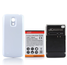 For Samsung Galaxy S4 SIV mini i9190 High Capacity 4300mAh Extended Battery+Wall Charger Repalcement Cell Phone FreeShipping(China)