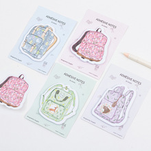 12 sets/1 lot Creative good study Memo Pad Sticky Notes  Escolar Papelaria School Supply Bookmark Post it Label