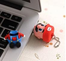 cartoon lovely usb flash drive Super Mario sitting 1G 4G 8G 16G 4GB 8GB 32GB USB Flash Pen Drive Memory Stick New S5  AA