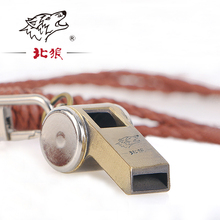 Hot Originality outdoor Zinc Alloy metal whistle Bronze Golden Whistle Shaped Christmas Gifts Boys&Girls Birthday Gifts Whistle(China)