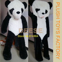New130cm Panda Bear Skin Plush toys for KIDS (Without Stuff) Teddy Bear Toys High Quality Plush doll Pillow