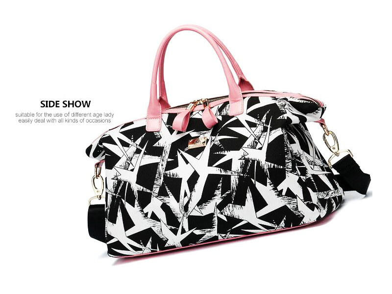 2019 Hot Sale Canvas Gym Bag For Women Large Capacity Duffel Bag ... 7ec88c5689