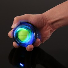 Mulitcolor Gyroscope PowerBall Gyro Power Ball Wrist Arm Exercise Strengthener LED Force Ball