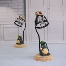 night light Spirited Away My Neighbor Totoro LED night light Handicraft reading lamp home Decoration table lamp luminaria