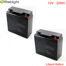 12V 20Ah battery pack 26650 lifepo4 battery pack for golf cart EV battery electric vehicles / Electric Bicycle(China)