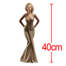 C&F Marilyn Monroe Anime Action Figure Toys America Superstar Actress 40 CM Reality PVC Model Figures Toys For Kids Gifts