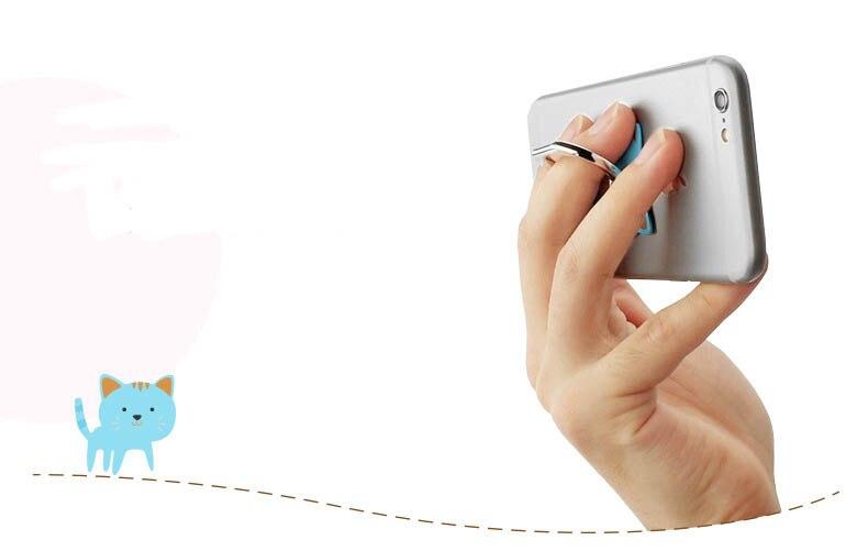 Holder Hook Universal Mobile Phone Metal finger Ring Holder Mount Stand Holder Finger Grip Holder for iPhone 5s 6 Samsung J5 LG