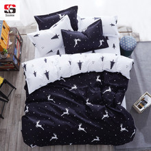 Sookie 3/4pcs King Size Bedding Sets Cartoon Queen Size bed set/bedclothes for kids/bed linen Duvet Cover Bed sheet Pillowcase(China)