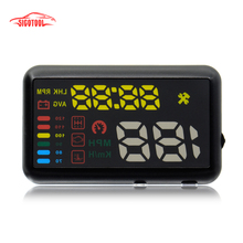 ATDIAG X7 Universal Car HUD Head Up Display KM/h MPH Overspeed Alarm Windshield Project Vehicle Speedometer(China)