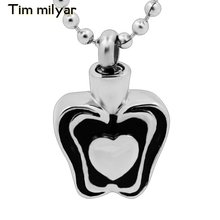 Personalize Design Heart Perfume Bottle Pendant For Necklace Pave Cute Cat Footprint Can Open Stainless Steel Pendant Necklace