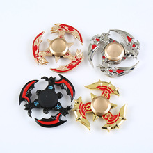 Buy 2017 New Golden Dragon Fidget Spinner Toy Zinc Alloy Metal Rotary EDC Hand Spinner Autism ADHD Focus Stress Fingertip Gyro for $4.39 in AliExpress store