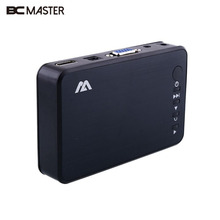 BCMaster Full HD USB External Mini Media Player HDMI VGA Optical USB Port(China)