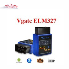 Best selling New MINI ELM 327 Bluetooth Vgate Scan OBD2 / advanced obd scan OBDII ELM327 V2.1 Code Scanner(China)