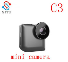 SITU 2017 New Designs C3 Mini WIFI Camera IP Control Night Vision Video Camera for Gift HD 720P MP4 Video Format Camcorder(China)