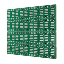 2017 New Electronic circuit 20 PCS SOP8 SO8 SOIC8 SMD to DIP8 Adapter PCB Board Converter Double Sides 0.65mm/1.27mm(China)