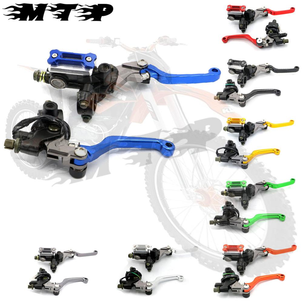 2015 New 7/8 CNC Motorcycle Brake Master Cylinder Reservoir Levers for Suzuki RM 85 125 250 RMZ 450 DR Free Shipping D10<br><br>Aliexpress