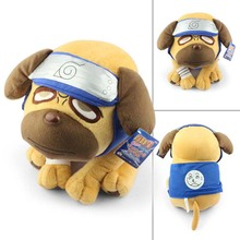 1Pcs 40cm Naruto Kakashi Pakkun Dog Plush Toy Stuffed Soft Doll Great Gift Free Shipping(China)