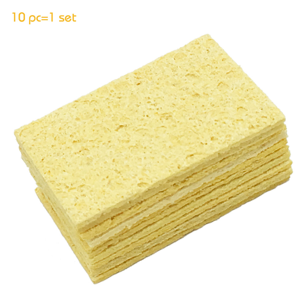 Hot sell 10pcs/lot High Temperature Resistant Heatstable Solder thick Sponge Soldering Welding Accessories