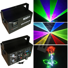 RGB led Animation Stage Laser Light 500mW mixed laser Projector, 500 rgb full color LASER Show ilda 25kpps Disco Lighting