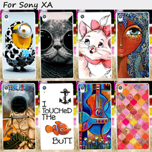 Plastic&Silicones Phone Skin Cover For SONY Xperia XA F3111 F3113 F3115 F3112 Cases New Lovely Ghost Baby Cell Phone Skins Cases