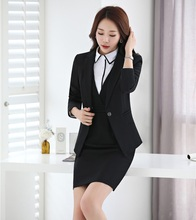 Buy Formal Ladies Dress Suits Women Business Suits Blazer Jacket Sets Elegant Office Uniform Style for $58.48 in AliExpress store