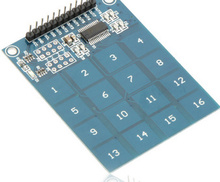 New 16-Way Channel Capacitive Touch Switch Digital Touch Sensor Module PCB Board TTP229 Electronic Components(China)