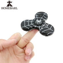 HOMEBARL Spider Finger Fidget Spinner Sport LED MP3 Player With Micro SD/TF Card Slot Hand Music Speaker 2 In 1 EDC ADHD Toy 3B9(China)