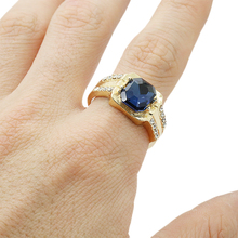KUNIU New Arrival Shining Jewelry Ring Size 8,9,10,11  classic Jewelry  Yellow Gold Filled Ring Gift