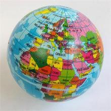 Inflatable Globe Toy Ball Baby Early Educational Teaching Tool Inflated Beach Ball Kids Learning and Playing Geography World Map