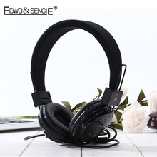 EDWO 101 Wired Headphone Noise Cancelling Multifunction Stereo Bass Music Headset Earbuds For iPhone Samsung Xiaomi Huawei PC