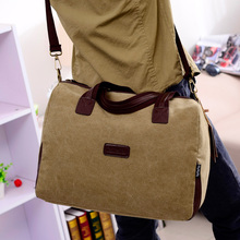 Casual men Crossbody Bags High Quality Men Messenger Bags Vintage Shoulder Canvas Bag Multifunction Men'S School Book Bag Travel(China)
