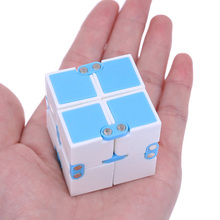 New Infinity Cube High Quality Fidget Cube Spinner Anti Stress Cube Magic Finger spinners Hand  Game Toys  Adult ADHD