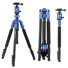 ZOMEI M7 Professional Portable Travel Tripod Magnesium Aluminum Alloy Monopod For SLR Outdoor Camera Tripod Accessories Stand