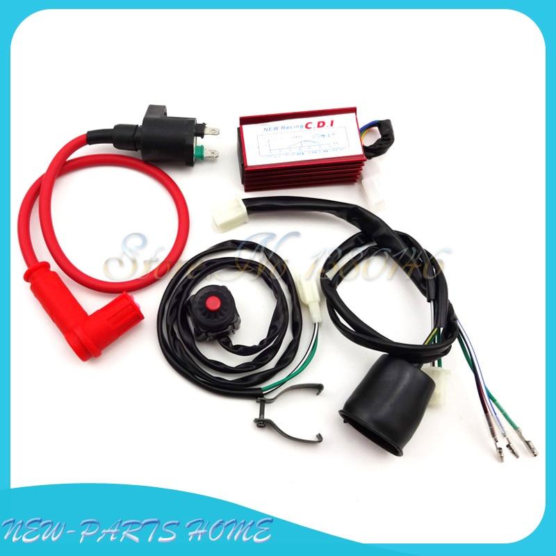 AC 5 Pin CDI BOX Fit Chinese 50-160cc XR CRF 50 SSR Thumpstar ATV Pit Dirt Bike