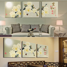 Adornment picture Canvas picture without frame Parcel post Plum blossom Calligraphy and painting